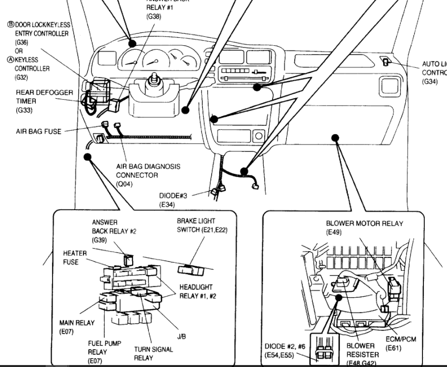 [DIAGRAM] 2003 Suzuki Xl7 Fuse Box Diagram FULL Version HD
