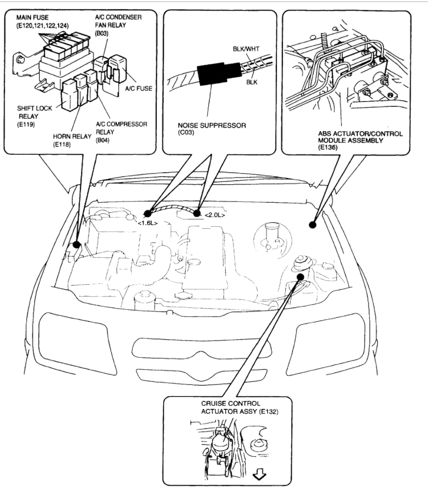 2005 Mercedes C230 Kompressor Fuse Box Diagram. Mercedes