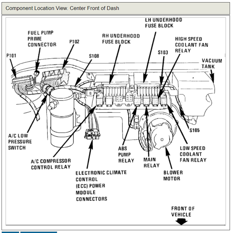 1995 cadillac fleetwood wiring diagram