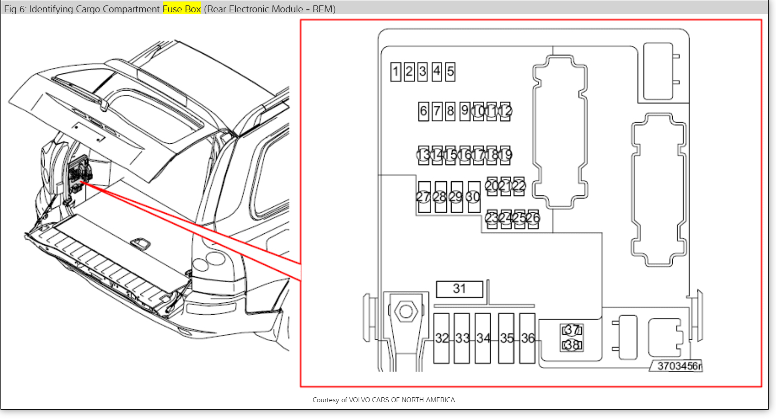 2004 volvo xc90 wiring diagram nissan 1400 bakkie parts rear  for free