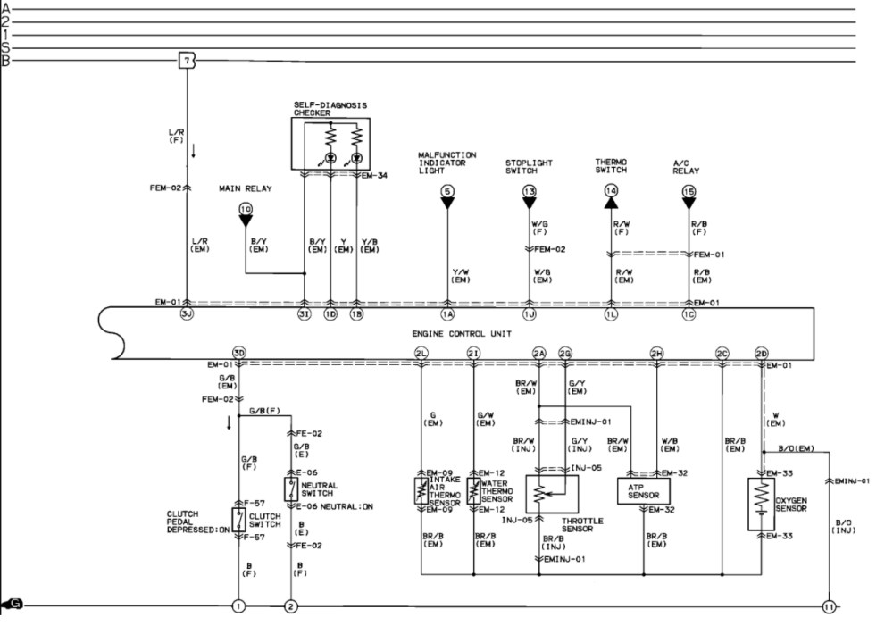 medium resolution of 1993 mazda b2600 wiring diagram wiring diagram and fuse box mazda 6 radio wiring diagram mazda