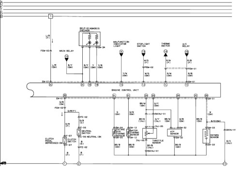small resolution of 1993 mazda b2600 wiring diagram wiring diagram and fuse box mazda 6 radio wiring diagram mazda