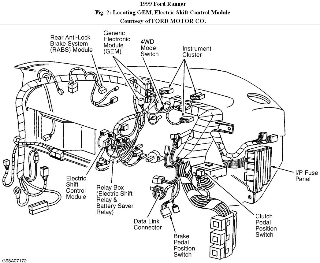 1999 ford ranger engine diagram alpine type r wiring 4 wheel drive i have a 99 with the