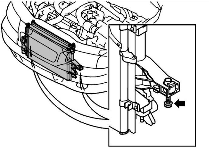 How to Remove Radiataor on Volvo S60