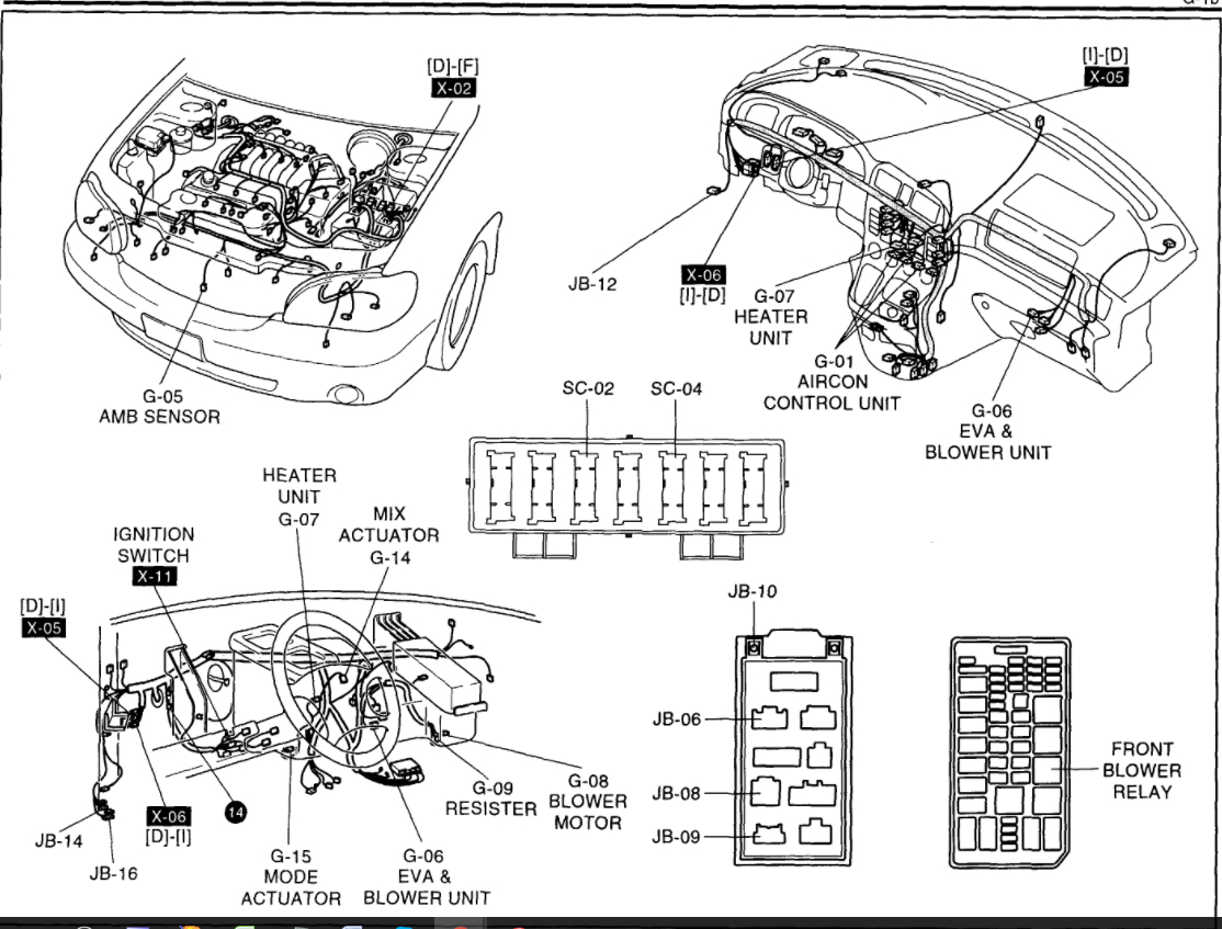 2008 Mercury Grand Marquis Heater Diagram