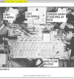 91 acura integra fuse box diagram [ 966 x 871 Pixel ]