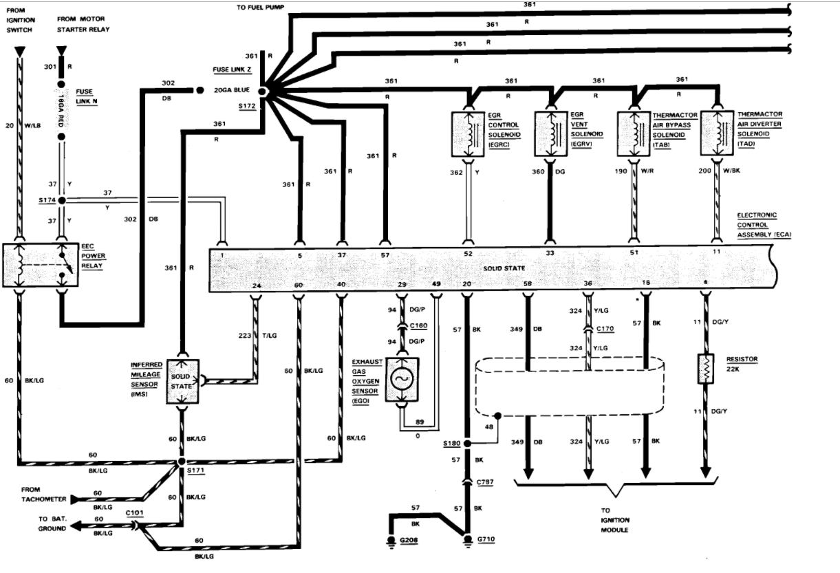 Pcm Wiring Diagram 1989 Ford Bronco 1994 Ford F-350 Wiring