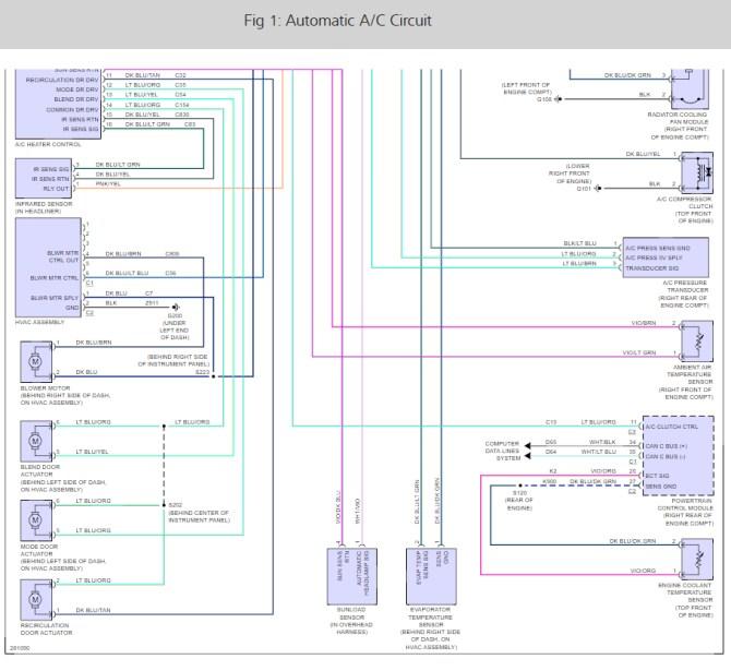 2013 jeep wrangler air conditioner wiring diagram  2007 gmc