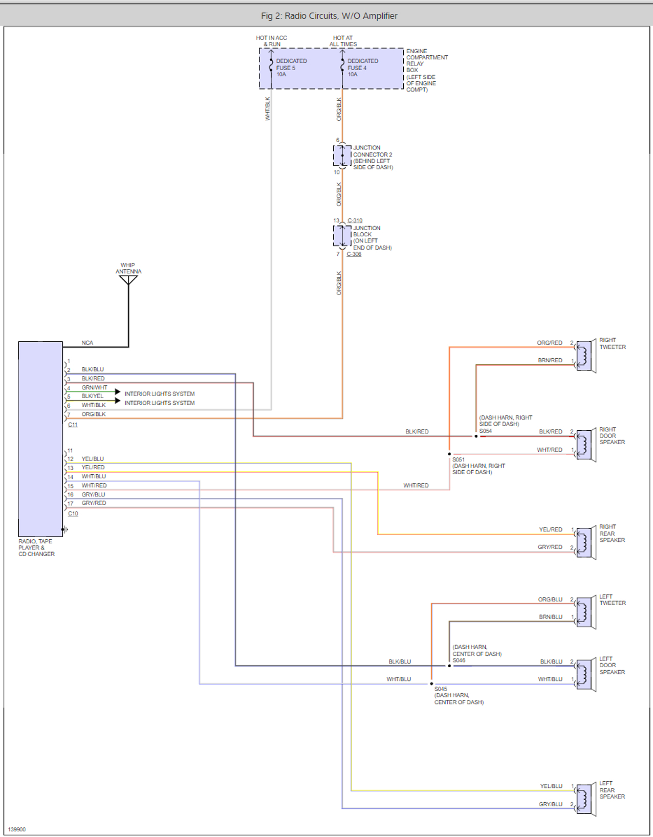 hight resolution of factory stereo wiring harness color code i have the lxi coupe 2006 sebring cd radio wiring diagram