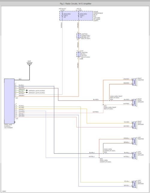small resolution of factory stereo wiring harness color code i have the lxi coupe 2006 sebring cd radio wiring diagram