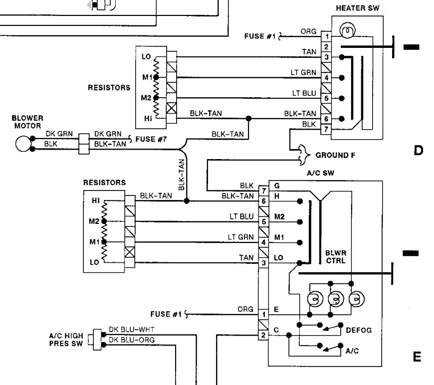 Switch for On/off High/low Heater Is Broken