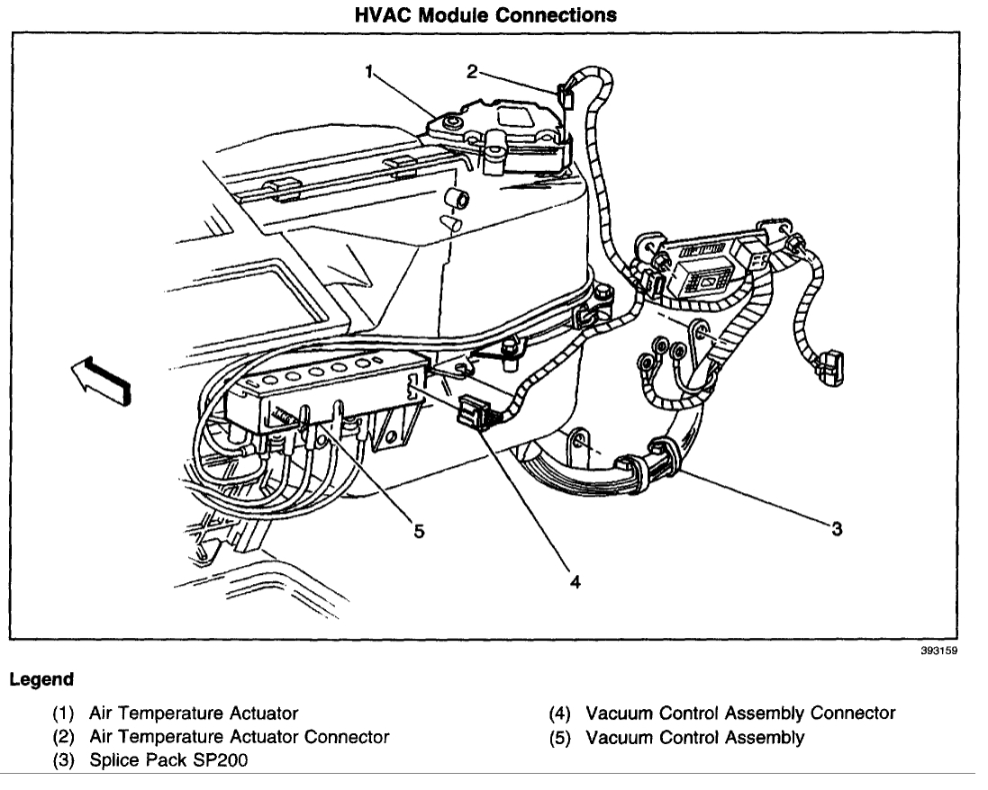 Chevy S10 Heater Hose Diagram