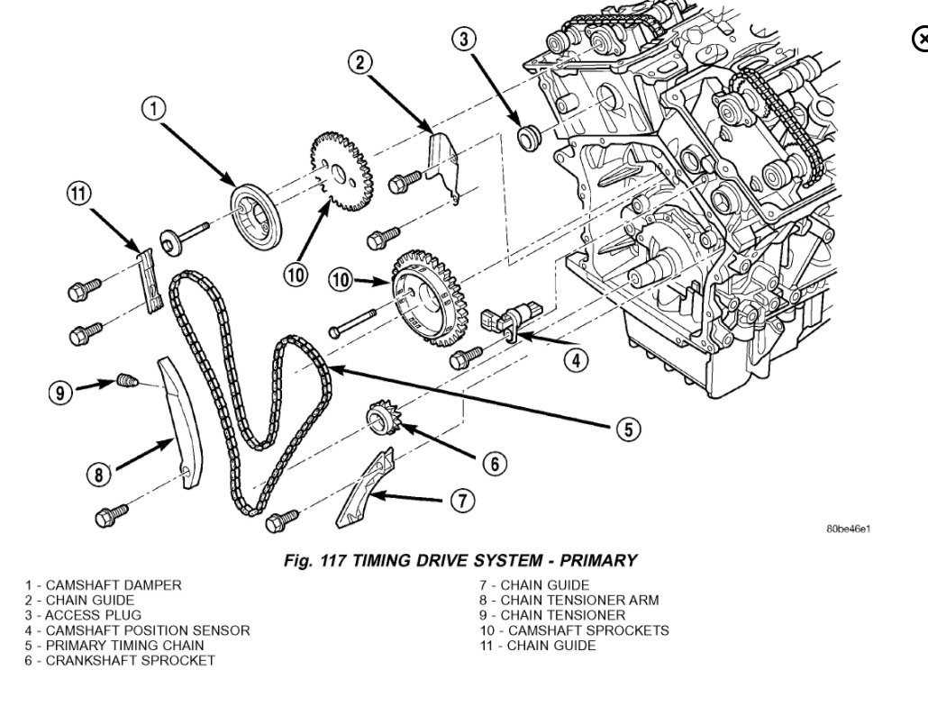 Service manual [2007 Chrysler Sebring Timing Chain