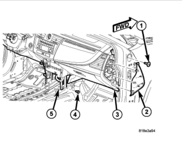 Service manual [2008 Dodge Avenger Heater Motor Replace