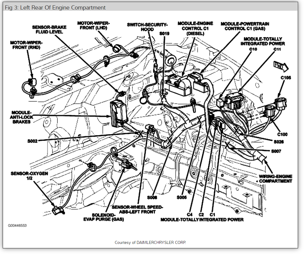 dodge caliber 2009 fuel system diagram