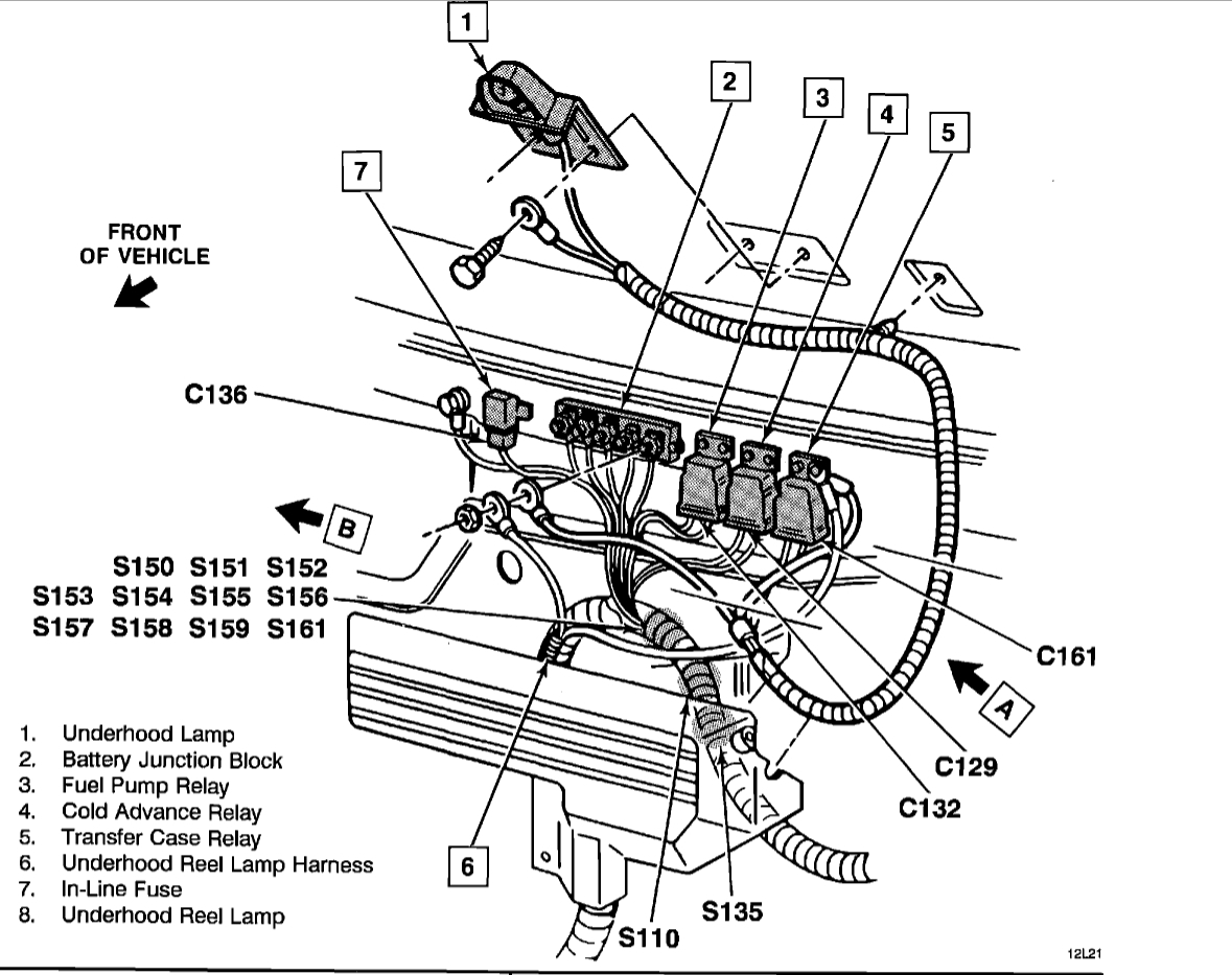 Where Is the Fuel Pump Relay?: Electrical Problem V8 Four
