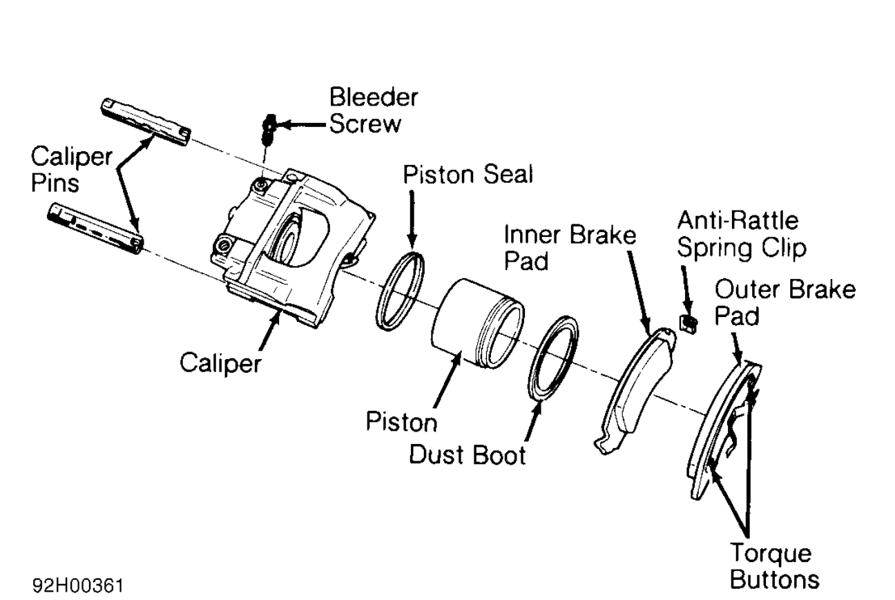 1994 Mazda B3000 Ke Pads Diagram. Mazda. Auto Parts