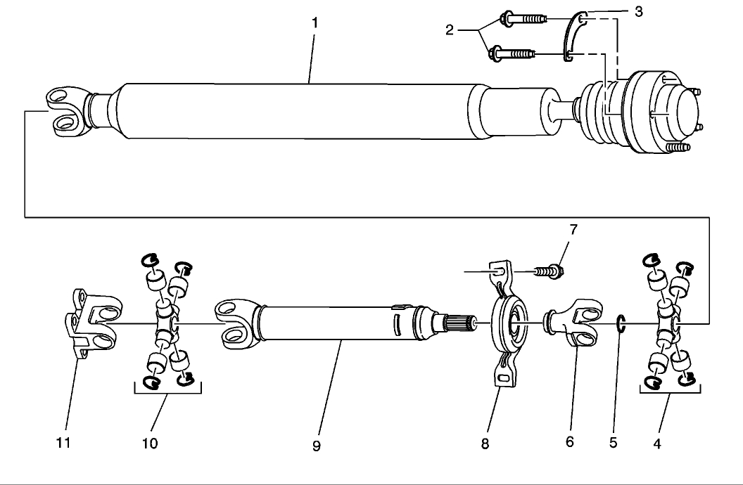 Driveshaft: I Need a Schematic of the Drive Shaft for the