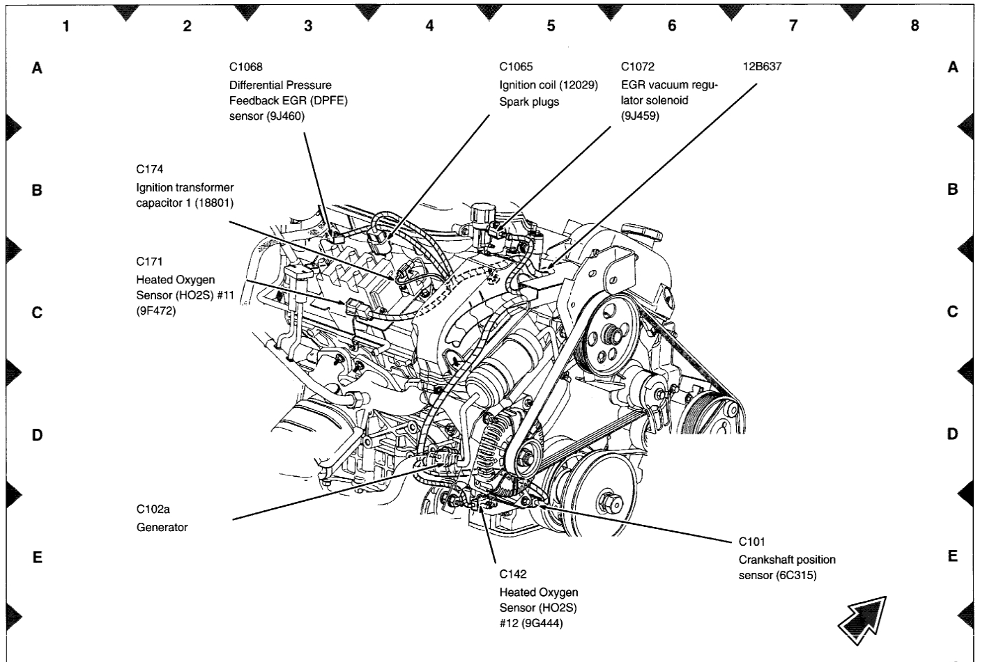 O2 Sensor Wiring Diagram 2001 Taurus. Fan Clutch Wiring
