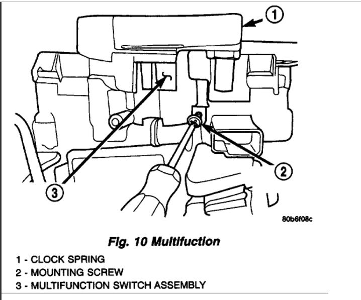 Ignition- Key Won't Turn: 6 Cyl Four Wheel Drive Manual