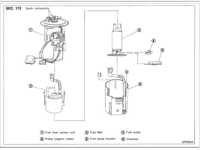 roger vivi ersaks: 2005 Chevy Silverado Fuel Filter Location