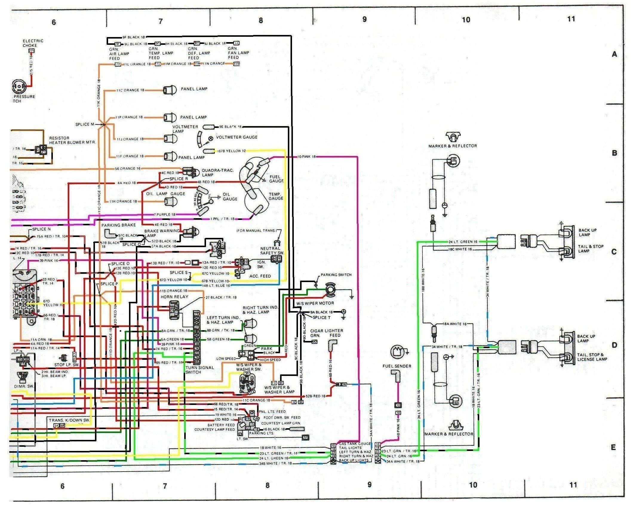 Pid Circuit Diagram   Cj7 Tach Wiring Wiring Diagram