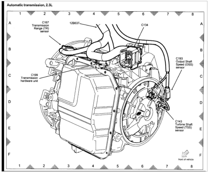 2012 ford escape ac low pressure switch location