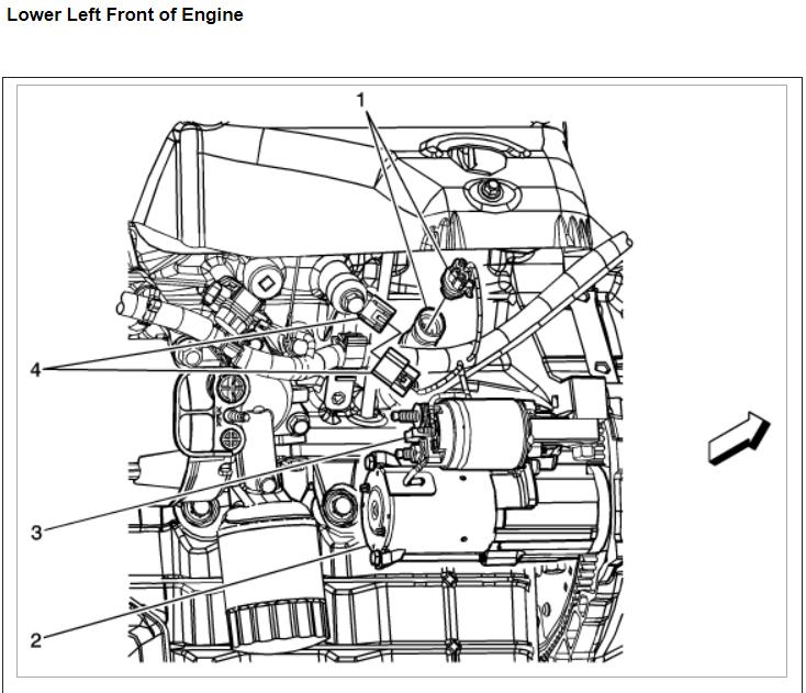 Knock Sensor: Engine Performance Problem 6 Cyl Front Wheel