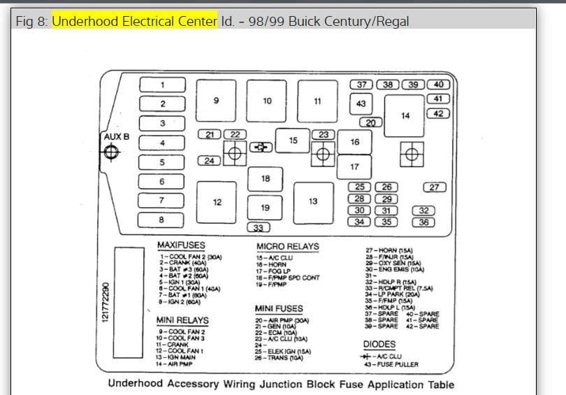 1999 Buick Century Power Window Wiring Diagram Pictures