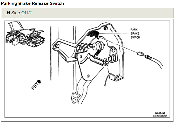 Emergency Brake Release: Brakes Problem V8 Front Wheel