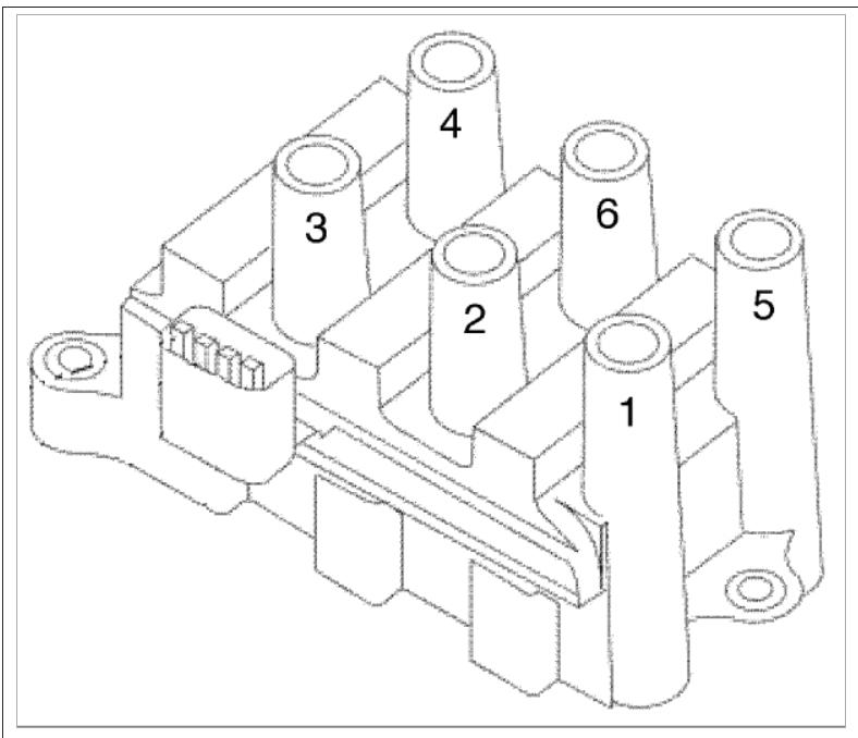 Spark Plug Wiring Order: 2001 Mercury Sable 3.0 24v Spark