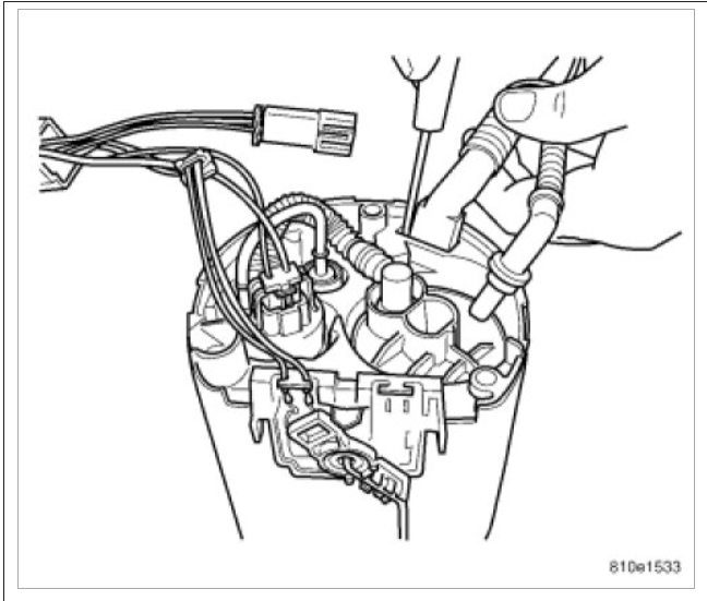 Can You Tell Me Where the Fuel Filter and Fuel Regulator Is