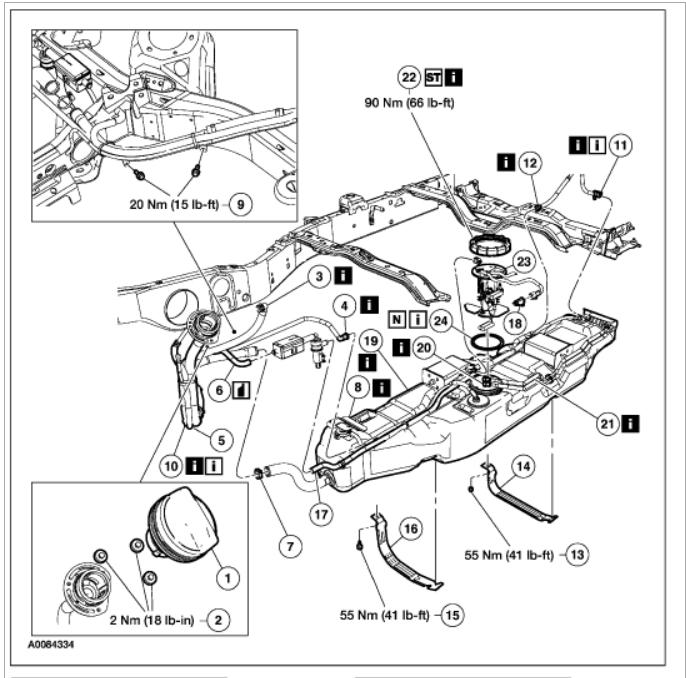 Fuel Level Sensor: Engine Mechanical Problem 6 Cyl Four
