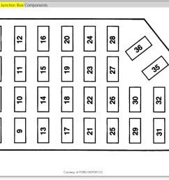 2001 ford ranger fuse diagram central junction manual e book 2001 ford ranger fuse diagram central [ 1251 x 851 Pixel ]