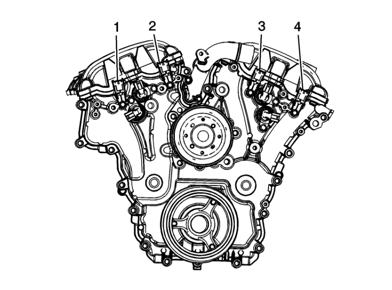 Codes P0391 with P0011: Where Is the Location of Camshaft