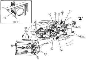 Removal of Headlight Assembly Ford F150: How Do You Remove
