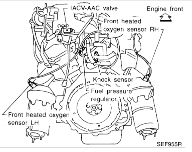 99 Nissan Maxima Engine Diagram