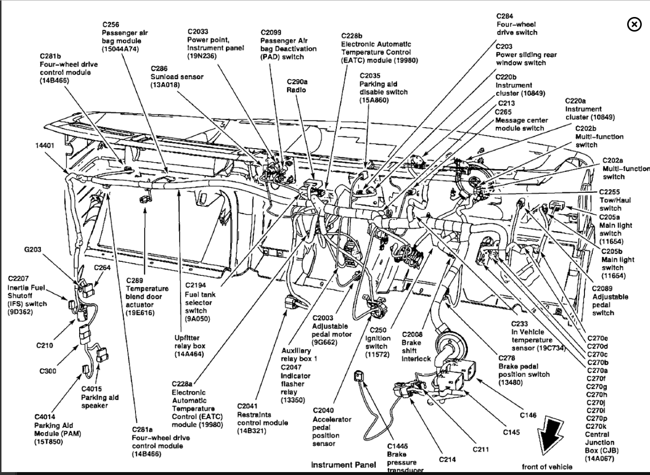 hight resolution of 2002 ford f350 7 3 fuse panel diagram wiring diagram load 2000 f250 7 3 fuse