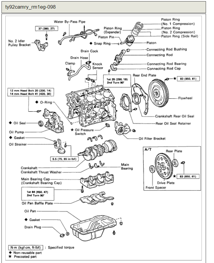 Where Are the Knock Sensors Located: 3vz-fe Engine. the