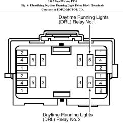 1997 Ford F250 Headlight Wiring Diagram Telephone Punch Down Block Headlights: The Headlights Come On By Themselves With Nobody In ...