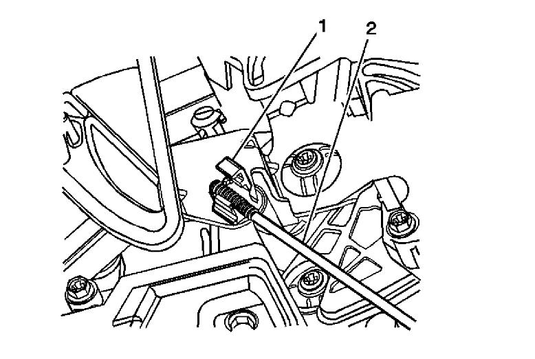 Location of A/C Vent Blend Door Actuator
