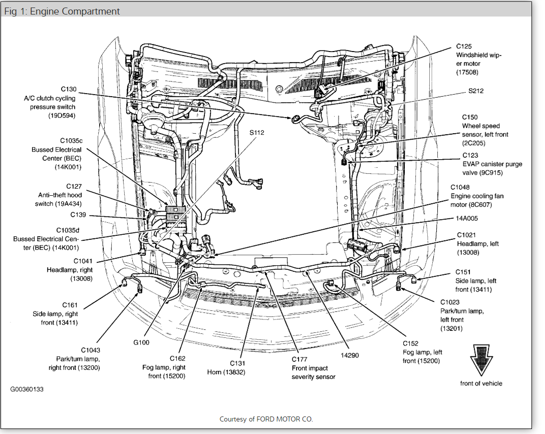 2005 Mustang V6 Engine Diagram