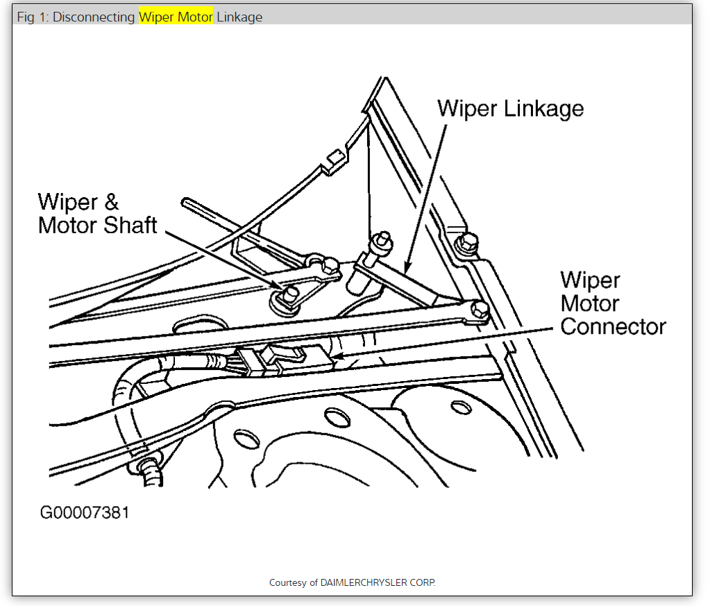 Windshield Wiper Not Working Properly: Wipers Work on Both
