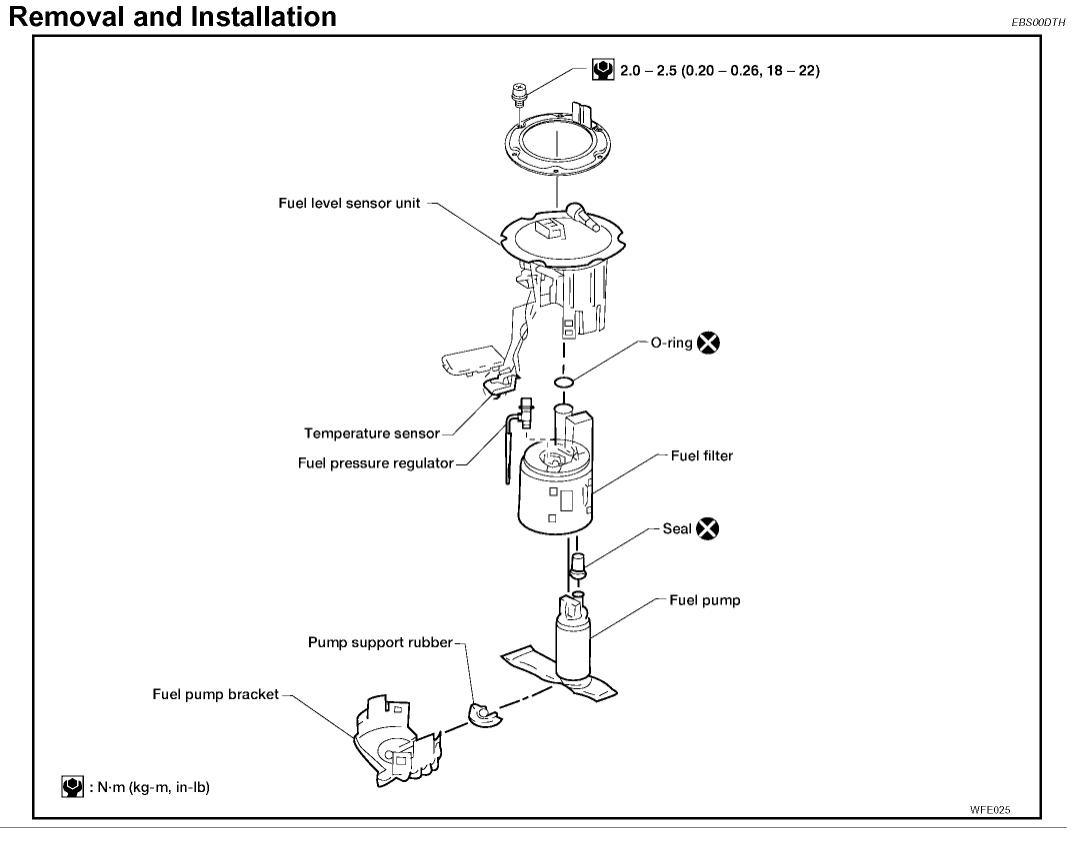 91 240sx fuel pump wiring diagram rj45 wall jack nissan library