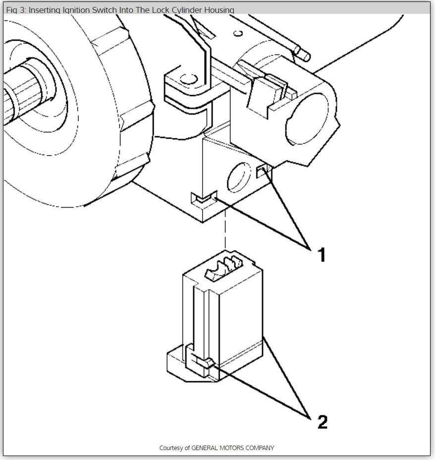 Ignition Switch: How Many Bolts Hold It the Ignition