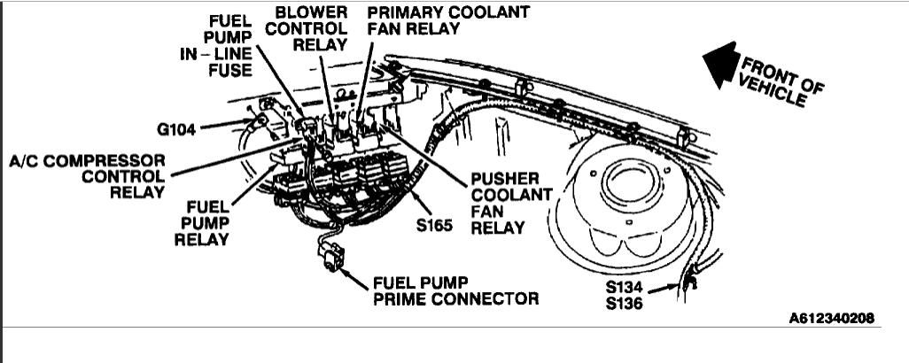 1993 buick century fuse diagram