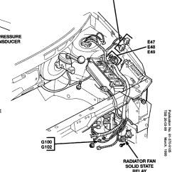 Radiator Fan Relay Wiring Diagram For 2005 Caravan 8n 12v Location I Have Determined That The Thumb