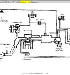 where are the vacuum hose route diagram 86 toyota vacuum hose diagram [ 1111 x 826 Pixel ]