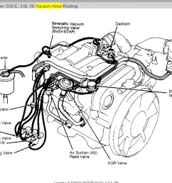 toyota 4runner 22re engine diagram 95 toyota 4runner engine v6 1995 1990 toyota 4runner engine diagram 3vze [ 1161 x 818 Pixel ]
