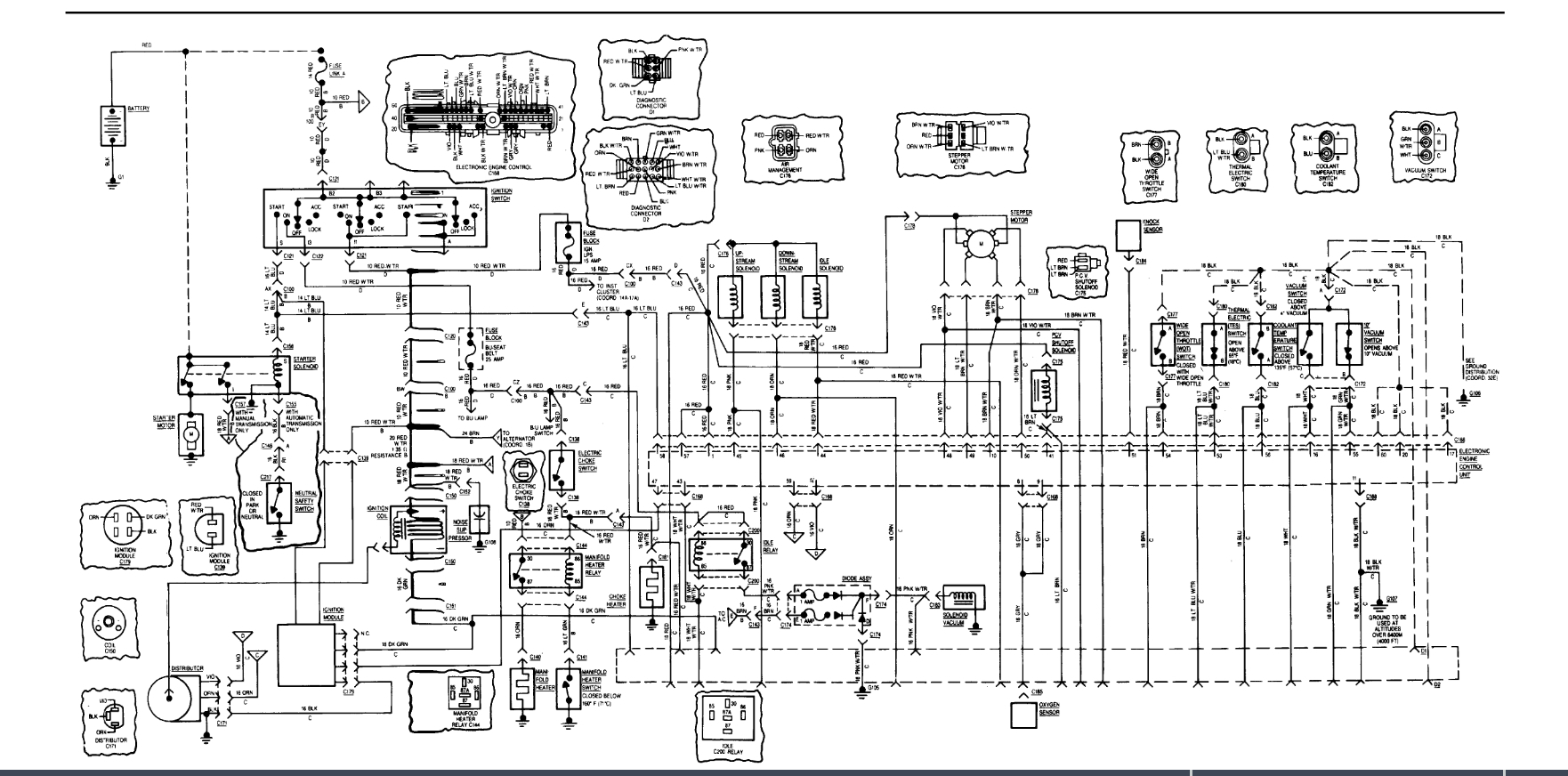 hight resolution of no spark i was driving down the road and all of a sudden the jeep cj7 wiring diagram blow up